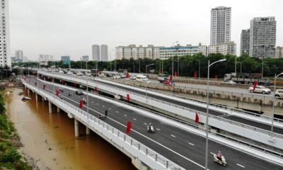 Hanoi inaugurates two bridges at Linh Dam Lake