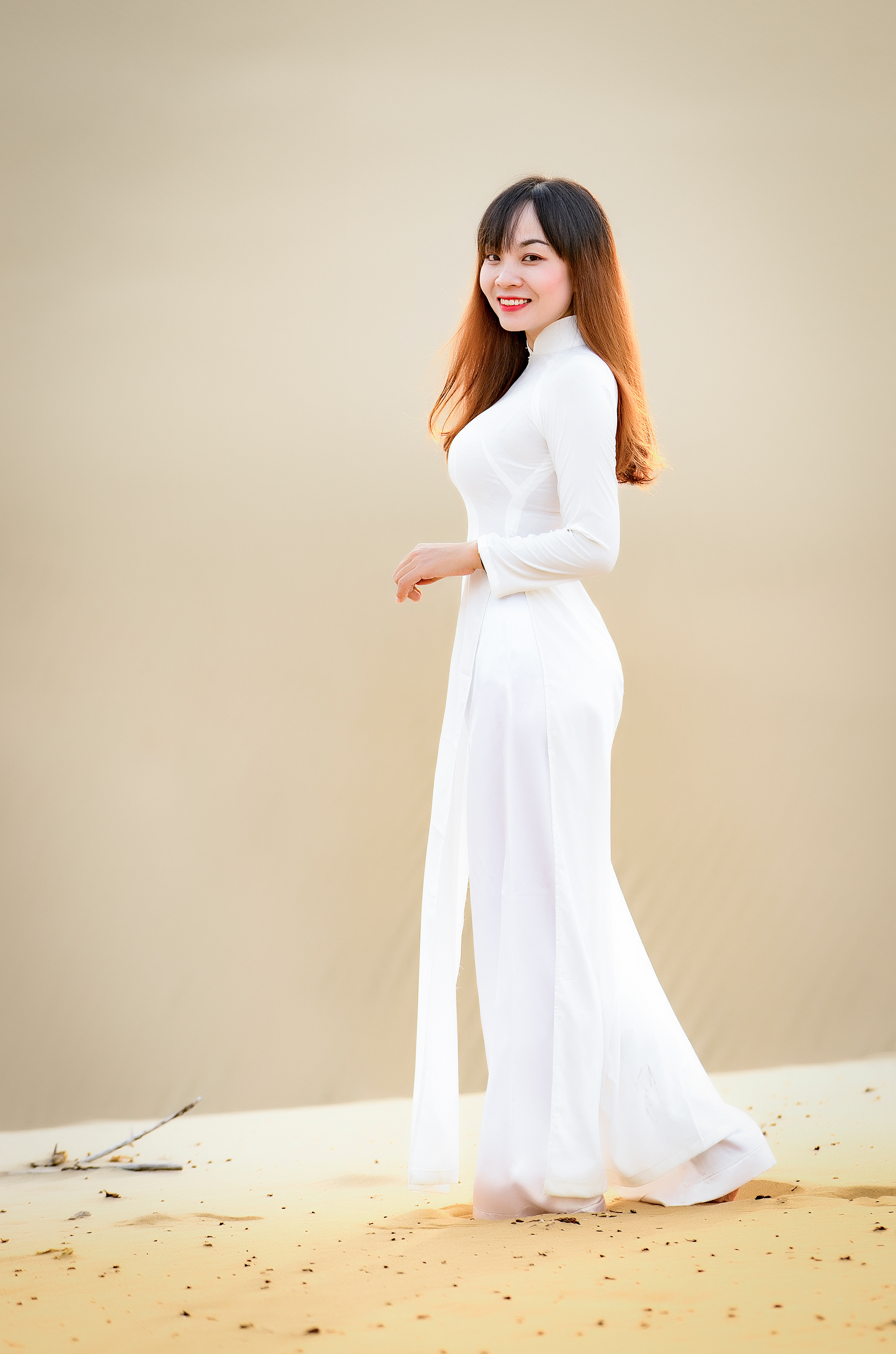 Vietnamese photographer Khanh Phan is seen in a photo she provided Tuoi Tre News