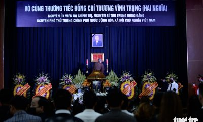 Funeral of Vietnam's ex-Deputy PM Truong Vinh Trong takes place in Hanoi, Ben Tre
