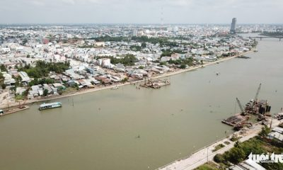 Can Tho City in Vietnam's Mekong Delta sinks at alarming rate