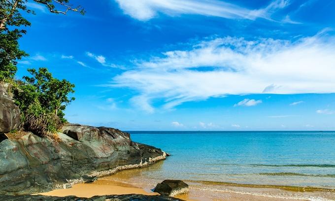 Dam Trau Beach on Con Dao Islands among world's 25 best