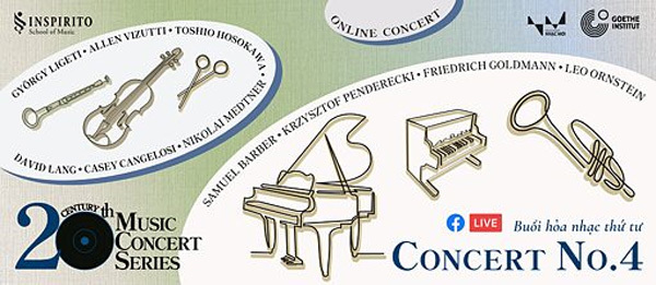 Concert on 20th century's musical pieces to be held online