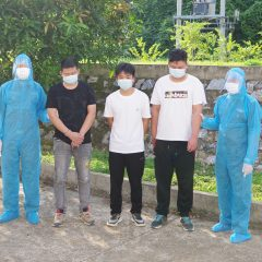Three Chinese arrested for illegally entering Vietnam