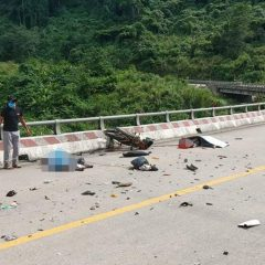 Collision kills woman, son on way to hometown in central Vietnam
